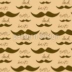 Moustache Pattern Design