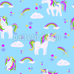 Cute Unicorns Pattern Design