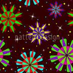 Sternenstaub Party Nahtloses Vektor Muster