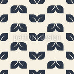 Simple And Charming Leaf Seamless Vector Pattern Design