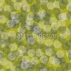 Getüpfelte Kreise Nahtloses Vektor Muster