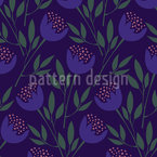 Tulip Dance Seamless Vector Pattern Design