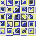 Geteilte Quadrate Nahtloses Vektormuster