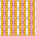 Stachelige Streifen Musterdesign