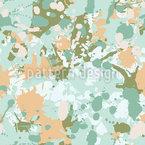Peinture Splash Camouflage Motif Vectoriel Sans Couture
