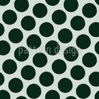 Big Brush Dots Seamless Vector Pattern Design