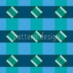 Verificar Dos Quadrados Diagonais Design de padrão vetorial sem costura