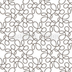 Connected Swirls Seamless Vector Pattern Design