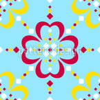 Geometrie-Tanz auf Fair Isle Nahtloses Vektormuster