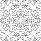 モノクロ接続 シームレスなベクトルパターン設計