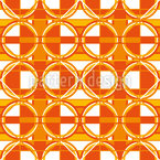 Overlap Of Geometry Seamless Vector Pattern Design