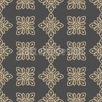 Elegant Flower Embellishments Repeating Pattern