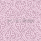 Bewildered Hearts Seamless Vector Pattern Design