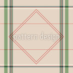 Filigree Checks Seamless Vector Pattern Design