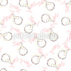 Jasmine Bud Seamless Vector Pattern Design