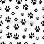 Tollpatschige Hunde Nahtloses Vektormuster