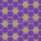 Favo de mel ondulado Design de padrão vetorial sem costura