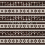 Lined Rhombuses Seamless Vector Pattern Design