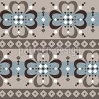 Trèfle losange Motif Vectoriel Sans Couture
