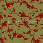 Abstrato Cama Jardim Design de padrão vetorial sem costura
