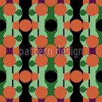 Eighties Marbles Seamless Vector Pattern Design