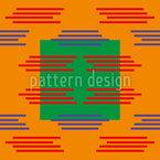Robot Signal Seamless Vector Pattern Design