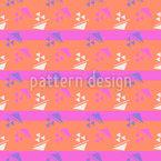 Eighties Sail Seamless Vector Pattern Design