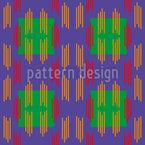 Signal Strips Seamless Vector Pattern Design