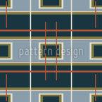 Signal Rectangles Seamless Vector Pattern Design
