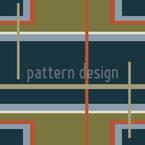 Crossed Strip Track Seamless Vector Pattern Design