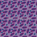 Flowers Of The Eighties Seamless Vector Pattern Design