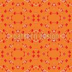 Animal Kaleidoscope Seamless Vector Pattern Design