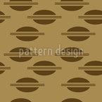 Eighties Sandwich Seamless Vector Pattern Design