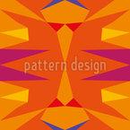 Ethno Kaleidoscope Seamless Vector Pattern Design