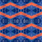 Signal Dragonflies Seamless Vector Pattern Design