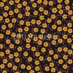 Amor Flor de Verão Design de padrão vetorial sem costura