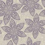 Maori Flower Vector Design