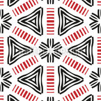 Giocosamente Geometrico disegni vettoriali senza cuciture