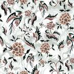 フローラルガーデンドリーム シームレスなベクトルパターン設計