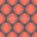 Symmetrical Round Shapes Vector Design