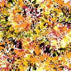 花と力 シームレスなベクトルパターン設計