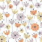 Florales Sommerparadies Nahtloses Vektormuster