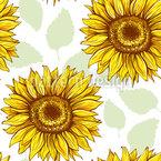 Sunflowers In Summer Vector Design