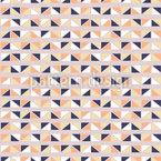 Dreieck-Rechtecke Nahtloses Vektormuster