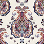 The Paisley Vision Seamless Vector Pattern Design