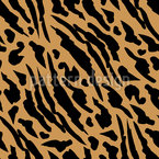 Panther Skin Seamless Vector Pattern Design