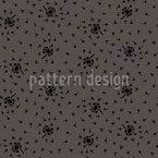 Dandelion Wind Seamless Vector Pattern Design