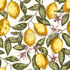 Lemon Mood Pattern Design