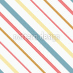 Simple Diagonal Stripes Seamless Vector Pattern Design