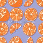 Süße Orange Nahtloses Vektormuster